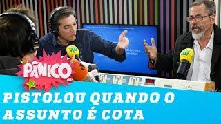 Rubens Nunes critica política de cotas e Francisco Barciela PISTOLA