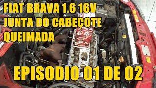 FIAT BRAVA JUNTA CABEÇOTE  DESMONTAGEM ( EP 01 DE 02)