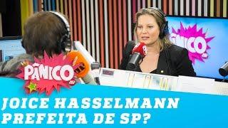 Joice vai se candidatar à prefeitura de São Paulo? 'Precisamos de um nome de direita'