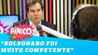 Maia: 'Bolsonaro foi competente, com 7 mandatos de deputado representa a nova política'