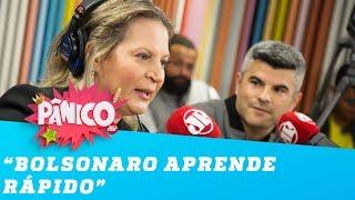 Joice: 'É capaz do Bolsonaro saber mais de economia que o Paulo Guedes'
