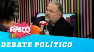 Esquerda e Direita: Léo Jaime comenta a política nacional