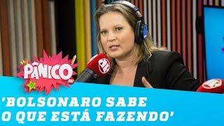 Joice sobre Eduardo como embaixador nos EUA: 'Bolsonaro sabe o que está fazendo'