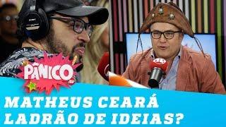 Matheus Ceará ROUBOU as piadas do Tonho dos Couros?