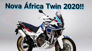 Nova Honda África Twin 2020!!