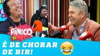 Tonho dos Couros conta piada de PUM e faz Emílio PASSAR MAL de rir