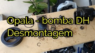Opala - Bomba DH marca ZF - desmontagem - Parte 2