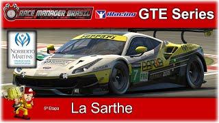 Race Manager Brasil, @La Sarthe, @GTE Series