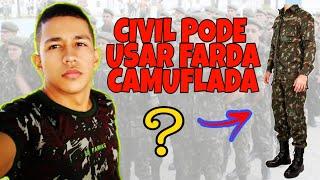 QUEM PODE USAR O UNIFORME CAMUFLADO | EXERCITO BRASILEIRO