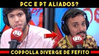 Caio Coppolla Comenta Proximidade de PCC e PT e Diverge de Fefito / Jovem Pan