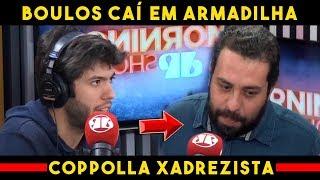 Caio Coppolla Cria Cama de Gato Perfeita para Guilherme Boulos sobre Venezuela / Jovem Pan