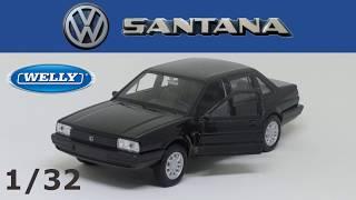 MINIATURA VW SANTANA ESCALA 1/32 WELLY