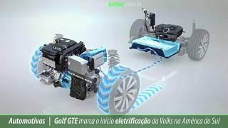 Golf GTE marca o início eletrificação da Volks na América do Sul