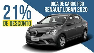 CARRO PCD | RENAULT LOGAN 2020