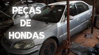 Peças de Hondas Civic 92 a 98 99 00, Coupe, hatch, accord em SÃO PAULO