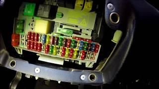 Chevrolet Astra - Como fazer a leitura do fusível na tampa.