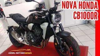 NOVA HONDA CB1000R NO BRASIL | PREÇOS E CORES