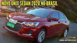 NOVO ONIX SEDAN 2020 REVELADO NO BRASIL FLAGRA