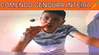 COMENDO CENOURA INTEIRA CRUA? - DESAFIO