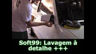Como lavar o carro sem riscar e no sol? Soft99 Creamy Shampoo!