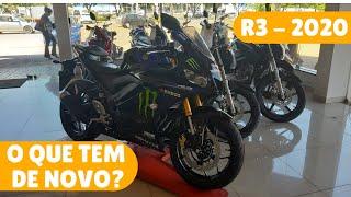 Chegou!!! Yamaha R3 ABS 2020 [Monster Energy]