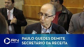 Marcos Cintra é demitido do cargo de secretário da Receita Federal