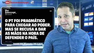 Leo Stoppa ao vivo de 09-09-2019 - VAZA JATO NÃO DÁ EM NADA!