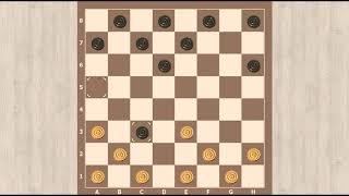 Jogo de Damas - Armadilhas na Abertura Ataque G5