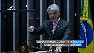Manifestação do Senador Humberto Costa sobre as novas informações da Lava Jato