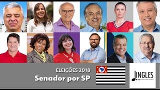 Jingles Eleições 2018: Senador por São Paulo