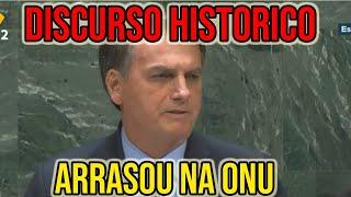 BOLSONARO FAZ DISCURSO HISTÓRICO E ARRASA NA ONU- PARTE 1