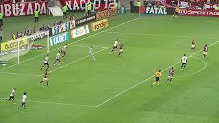 Flamengo pressiona mas finaliza para fora