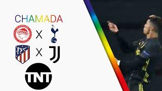 Chamada de OLY x TOT & ATM x JUV - UEFA Champions League 2019/20 (TNT)