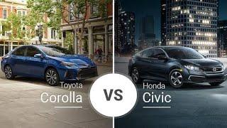 Honda Civic 2020 vs Toyota Corolla 2020. Qual leva a melhor ? | CmFocus Br
