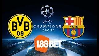 Dica de Aposta Dortmund x Barcelona - Liga dos Campeões 2019/2020 - Rodada 01