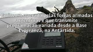 Captando mais uma vez em Porto Alegre a LRA36 Radio Nacional Arcángel San Gabriel, da Antártida!