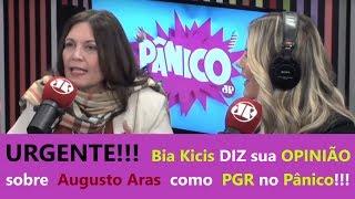 Bia Kicis DETONA no Pânico na Radio e FALA de Augusto Aras PGR, Bia Kicis Jovem Pan Pânico ao vivo