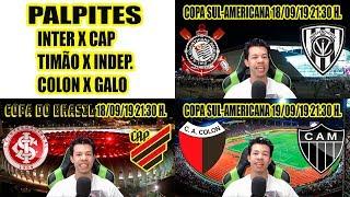 Palpites para Copa do Brasil e Sul-Americana