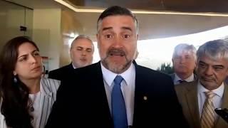 AO VIVO | Paulo Pimenta e outros parlamentares relatam como foi a reunião com Raquel Dodge