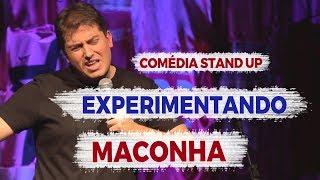 EXPERIMENTANDO MACONHA DEPOIS DE VELHO - COMÉDIA STAND UP | BRUNO BERG