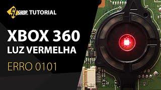 Xbox 360 com Problema - Luz Vermelha Erro 0101 (Resolvido 2019) | Tutorial