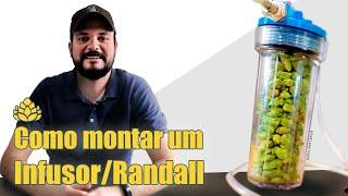 Como montar um Infusor/Randall para usar adjuntos na cerveja.