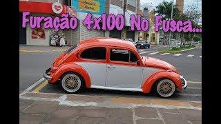 Roda com furação 4x100 no Fusca...confira!!!!!