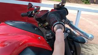 Yamaha MT 07 com guidão baixo, Rizoma! Como ficou, e primeiras impressões. Top!