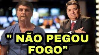 """Datena é criticado após fala sobre BOLSONARO """" Pois é, não pegou fogo"""""""