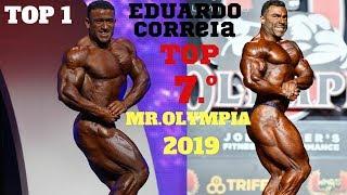 EDUARDO CORREIA TOP 7.º MR.OLYMPIA 2019 *vencedor Kamal Elgargni*