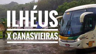 ônibus de Ilhéus para São Paulo via Canavieiras trecho completo