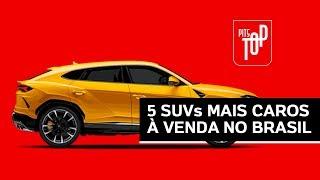 SUVs de R$ 1 mi? Os 5 modelos mais caros do Brasil | PITSTOP