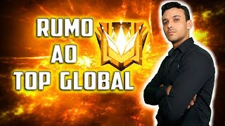 ?NOVA TEMPORADA RUMO AO TOP GLOBAL ? SORTEIO DE GIFT #210K? FREE FIRE AO VIVO