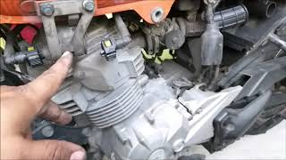 Edu Car & Motos - Fazer 150 revisão de 60000km desmontagem #01.